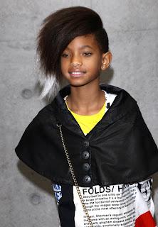 ws Willow Smith, star de la Fashion Week de Milan
