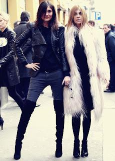 Carine_Roitfeld_Emmanuelle-Alt >Emmanuelle Alt nouvelle Rédactrice en Chef de Vogue Paris