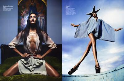 >Hot Shoot | Joan Smalls pour Vogue Paris par Mario Sorrenti
