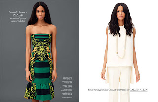 >Hot Shoot | Chanel Iman pour Elle UK