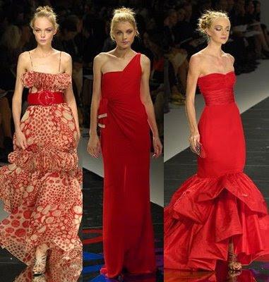 vestidos de madrinha vermelho fotos