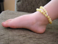 inspired by finn teething anklet