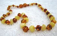 inspired by finn light mix baltic amber necklace