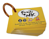 Around the Table Games Family Talk card game