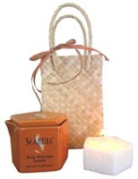 Scandle Massage Gift Set