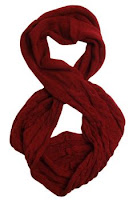 affordable scarves burgandy infinity scarf