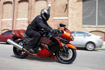 Top Motorcycle Review  2009 Kawasaki Ninja ZX