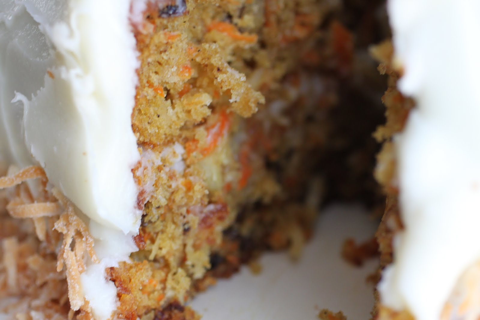 Malisa's Food Blog: Coconut Pineapple Carrot Cake with ...