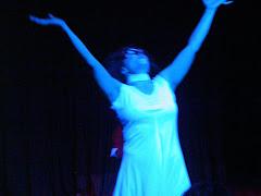 que bailarina!!!