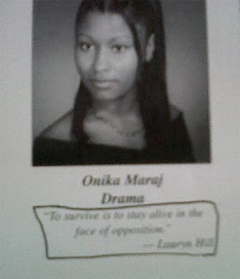 Not much has changed for Nicki Minaj since high school.