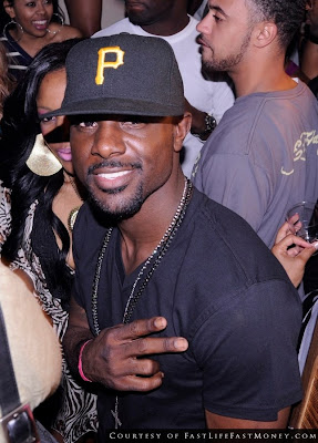 Lance Gross & Neyo Party It Up In South Beach