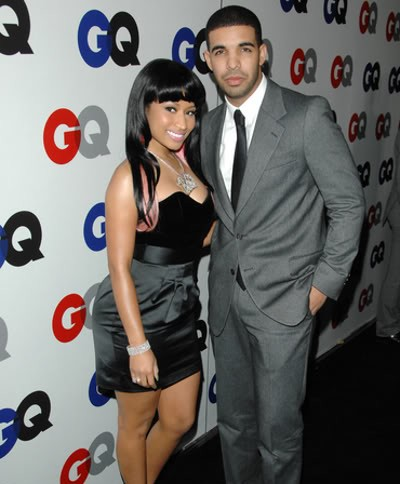 nicki minaj and drake kissing on the lips. DRAKE AND NICKI MINAJ KISSING