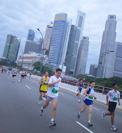 Finding My Way: Singapore Marathon
