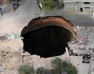 dziury w ziemi singhole