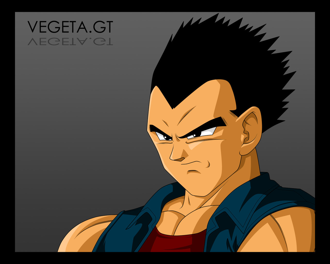 Dragon Ball GT - Goku, Vegeta y Gogeta