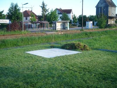 Ahornstrasse 25 Gartenhaus Fundament Ist Fertig