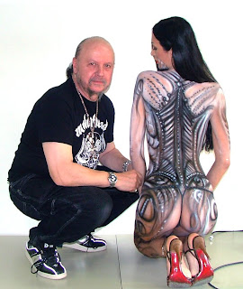 gz-Body Painting or Italian Body Painting Picture