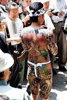 Yakuza  Full Body Tattoo For Men