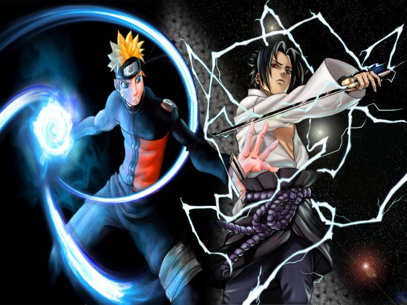 download wallpaper naruto. Sasuke and Naruto Wallpapers