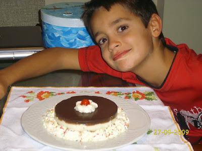 Pastel de chocolate CCMT