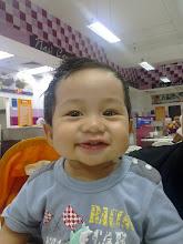 Usia Ajeem 10 bulan 7.7kg