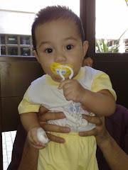Usia Ajeem 8 bulan 7.7kg