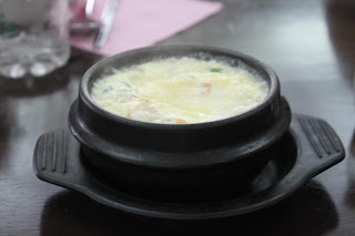 The Complimentary Steamed Egg Steaming Hot