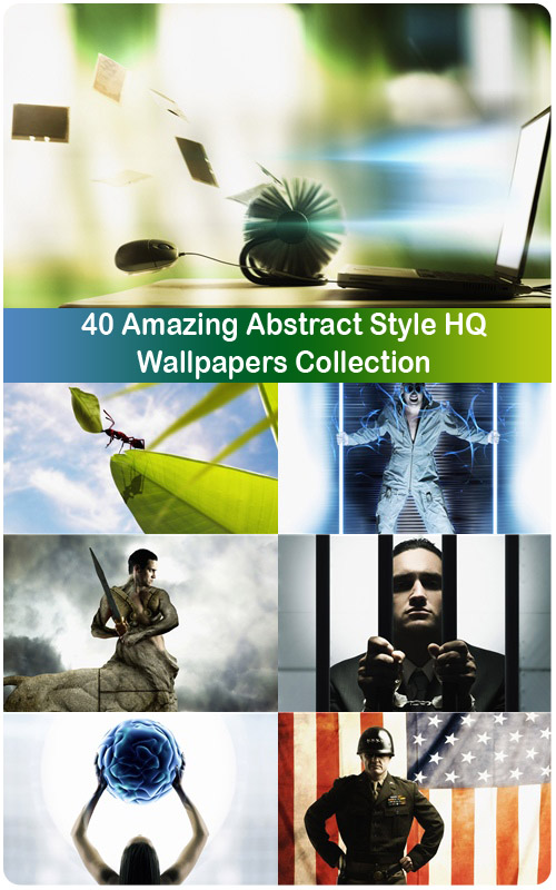 40 Amazing Abstract Style HQ Wallpapers Collection