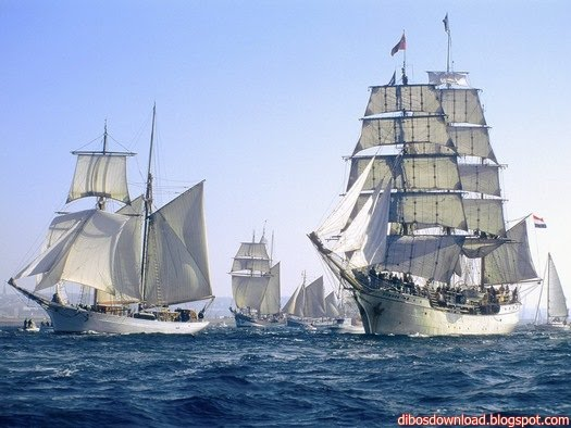 sail ships wallpapers 1