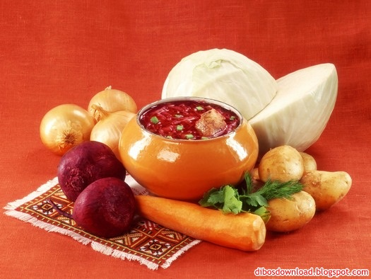 russian cuisine wallpaper 4