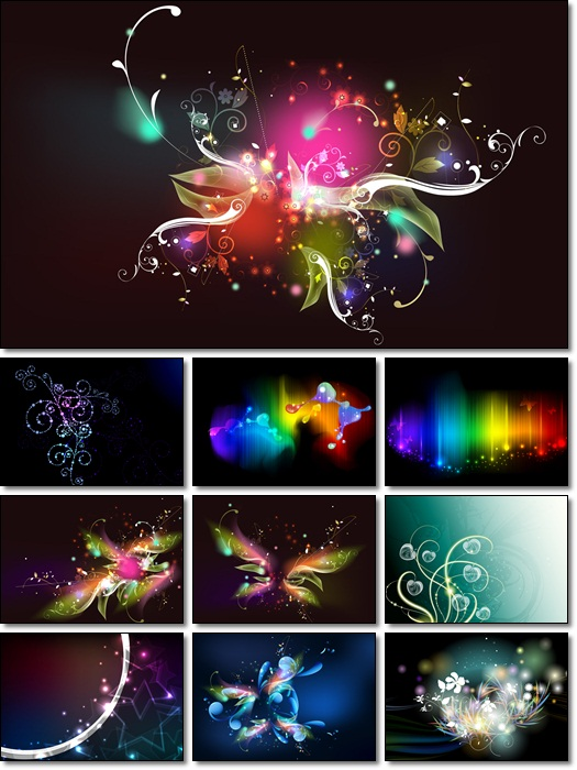Coloured Wallpapers