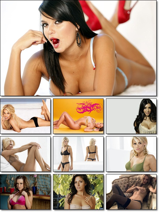 HD Sexy Girls Wallpapers Pack