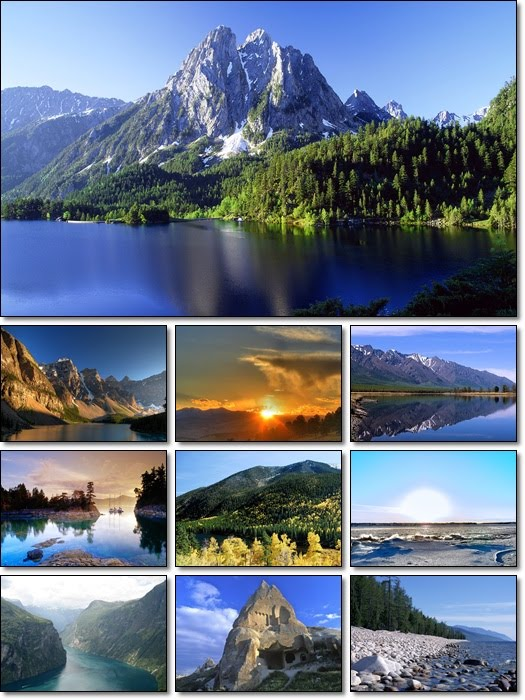 landscape wallpapers. Landscape Wallpapers Pack
