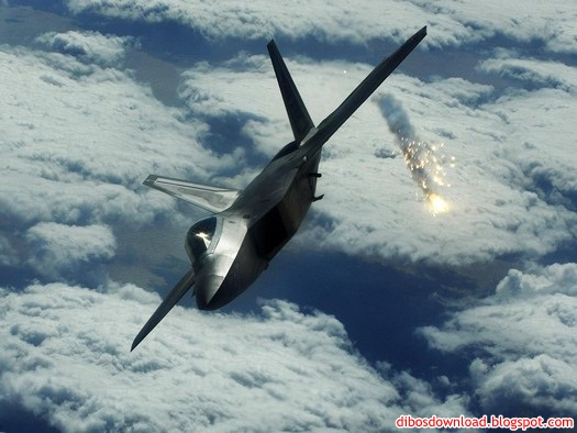 combat aircraft and missiles