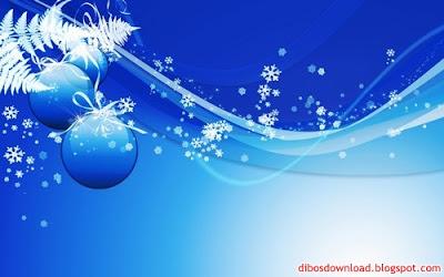 HD Blue Christmas