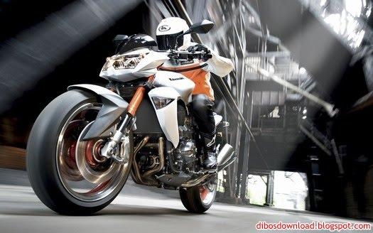 kawasaki go fast motorcycle