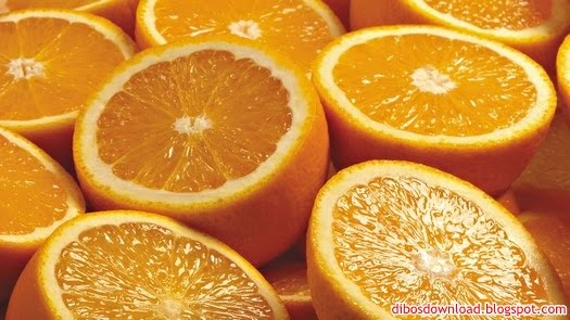 juicy oranges split