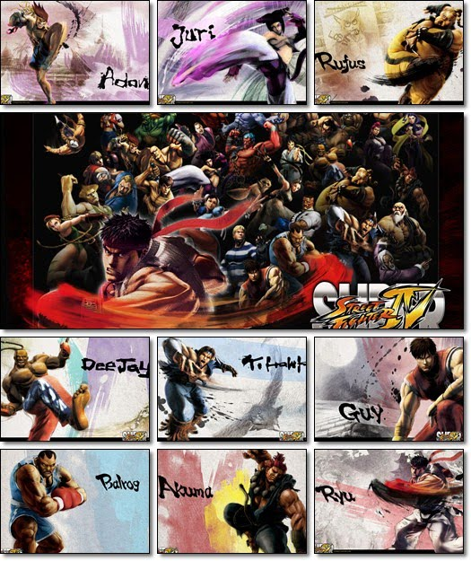 Super Street Fighter 4 HD Wallpapers