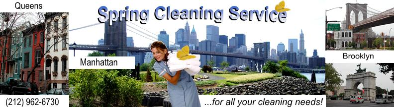 Spring Cleaning Service NYC
