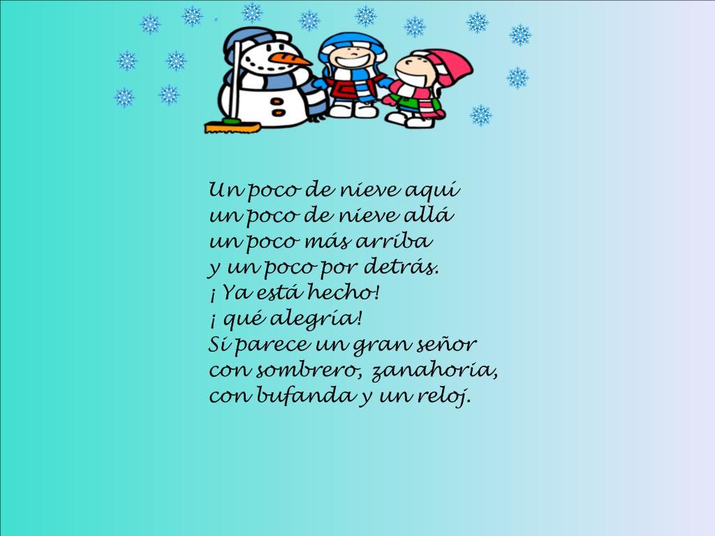 Clase de alicia 4 a os poes a de invierno for Poemas de invierno