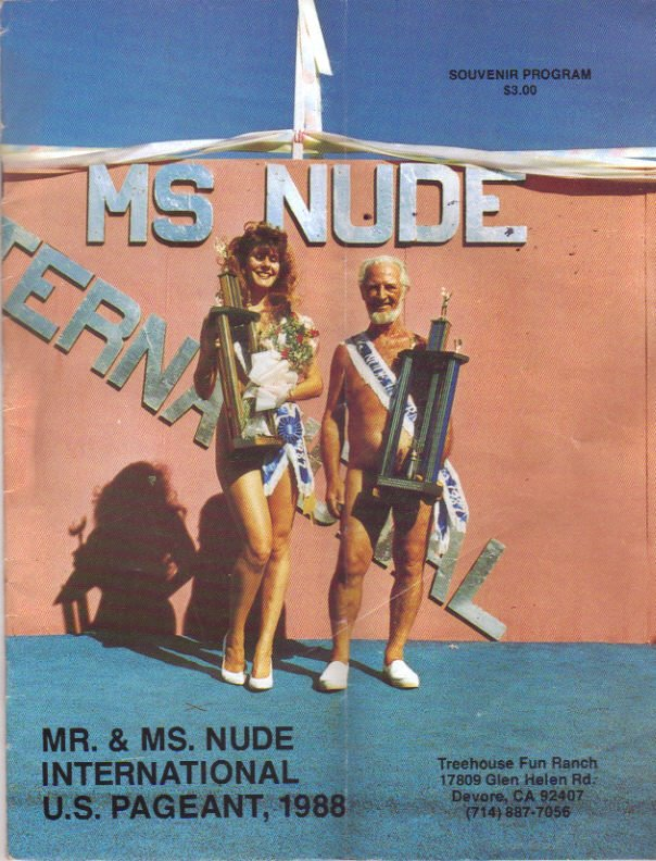 the Mr. & Ms Nude-USA and