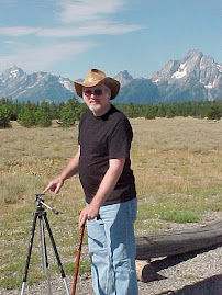 Stan at the Grand Tetons National Park