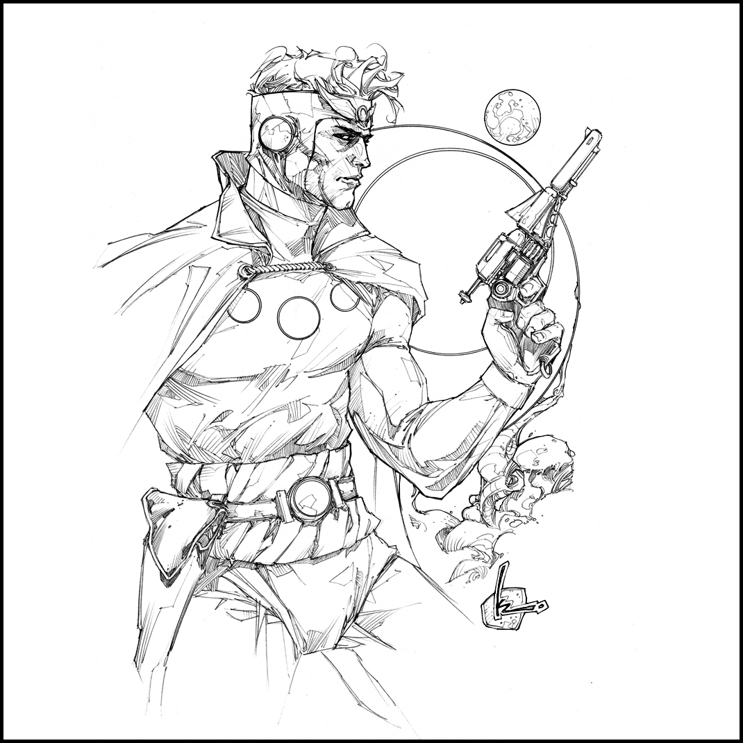 1000 images about kenneth rocafort art on pinterest red for Flash gordon coloring pages