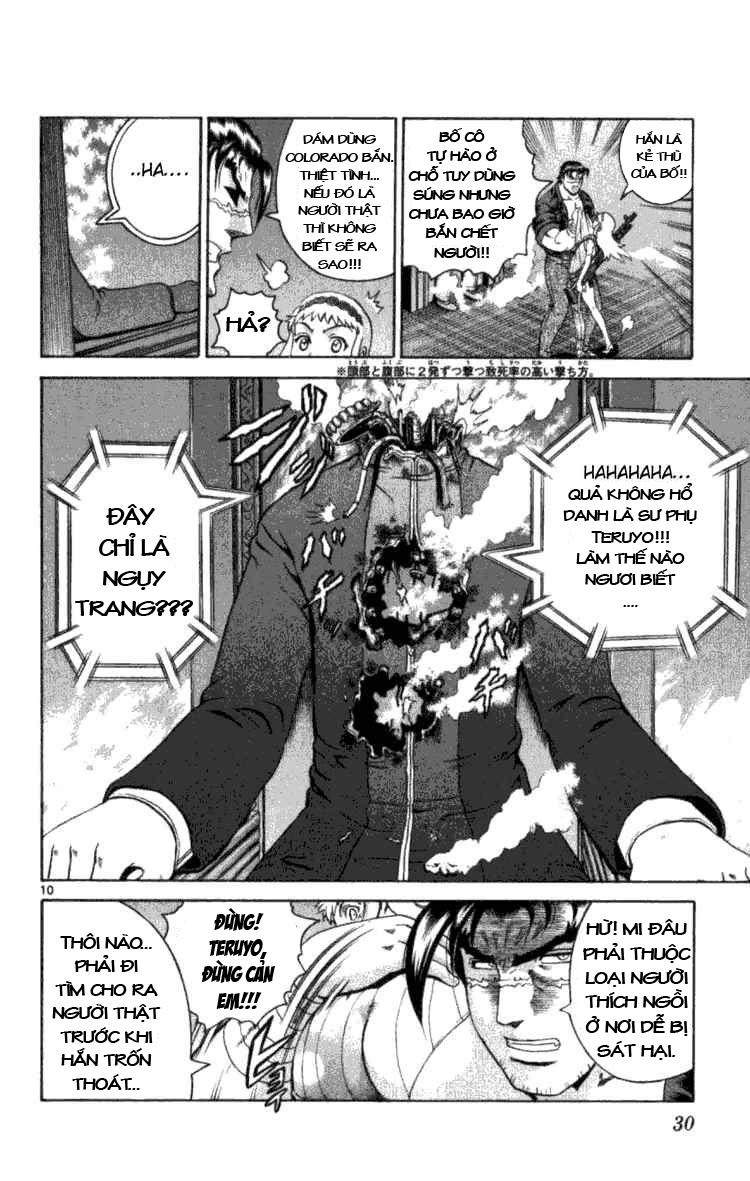 History's Strongest Disciple Kenichi chap 249 Trang 10 - Mangak.info