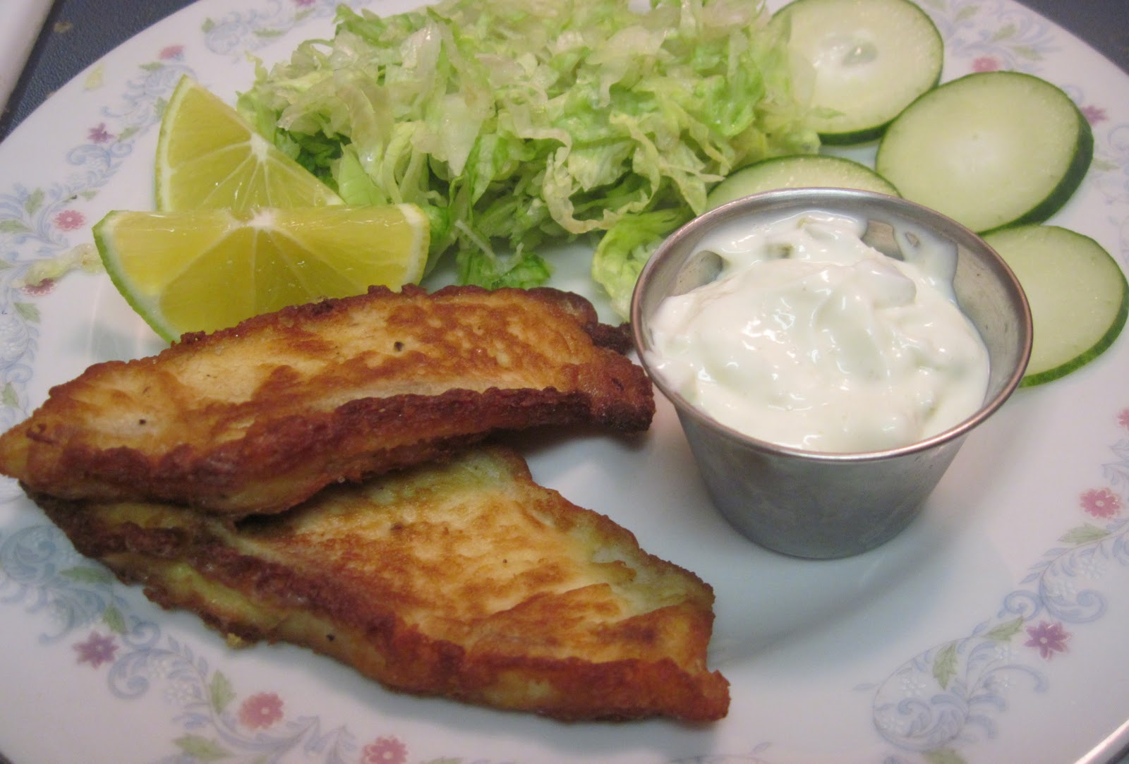 Luscious low carb low carb batter fried fish for Deep fry fish batter