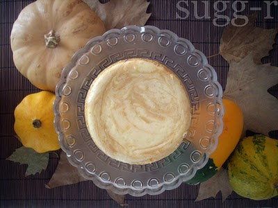 pumpkin speculoos cheesecake calabaza