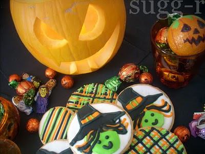 halloween decorated cookies galletas decoradas
