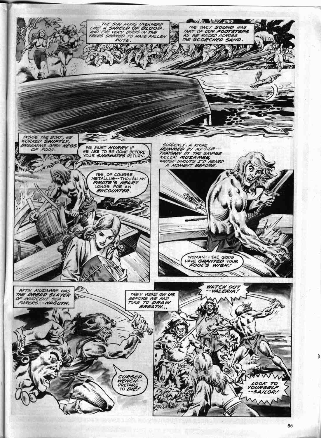 The Savage Sword Of Conan Issue #74 #75 - English 62