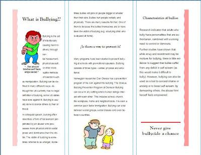reflective essay bullying