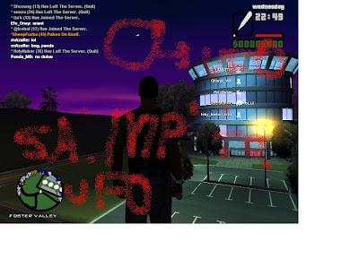GTA San Andreas Multiplayer'da UFO(Uzaylı)/Havadaki Bilinmeyen Obje